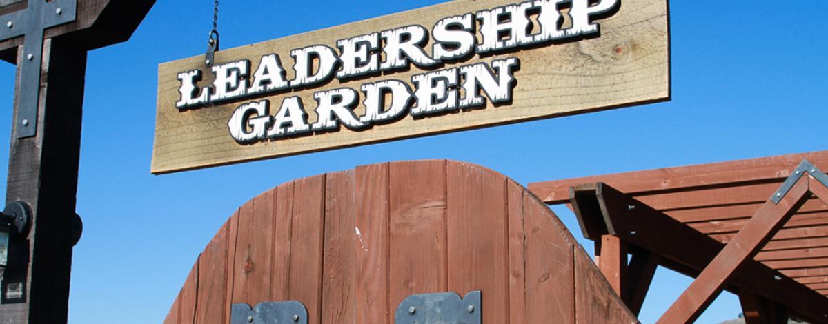 Leadership Garden