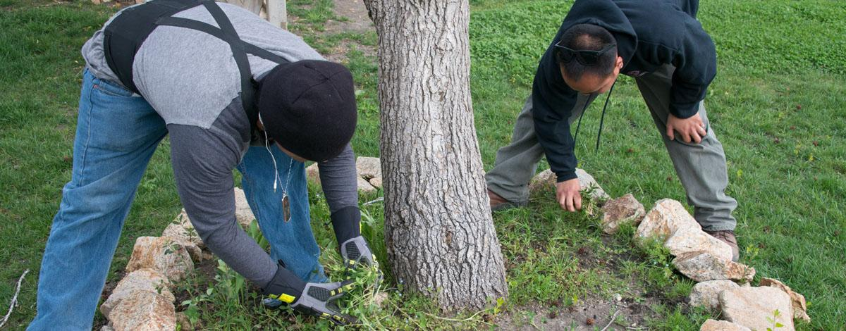 Youth Corps Gardening