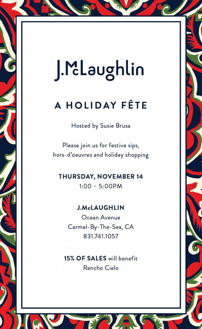 Sip and Shop Nov 14 at 1 pm