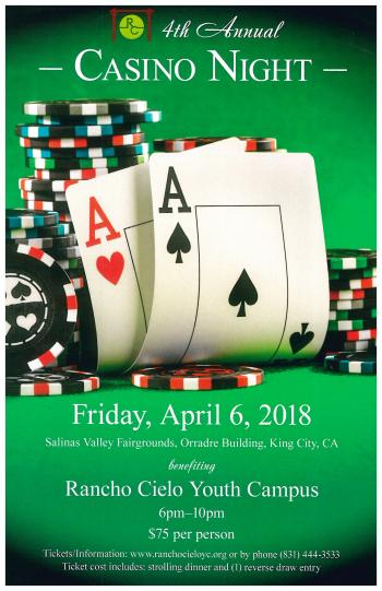 Rancho Cielo Casino Night